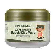Cuci Gudang Niceeshop Hot Black Mask Black Piggy Berkarbonasi Gelembung Clay Mask 100G Menghilangkan Blackhead Acne Purifying Pori Pori Wajah Perawatan F*c**l Sleeping Mask Intl
