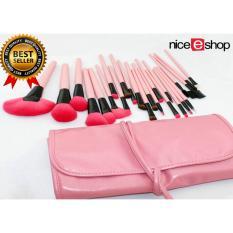 Harga Niceeshop Jasa Profesional Rias Bibir Wajah Mata Bubuk Set Sikat Tas Wanita Kulit 24 Buah Berwarna Merah Muda Internasional Branded