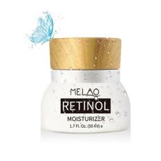 niceEshop Retinol Moisturizer Cream - Pawaca Anti Aging Formula With Vitamin A C E,Reduces Wrinkles Fine Lines Dark Circles,With 2.5% Active Retinol, Hyaluronic Acid Green Tea, 1.7 Fl.Oz - intl