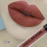 Harga Niceface 118 Warna Baru Matte Cair Lipstik Lebih Lama Waterproof Lip Gloss T*l*nj*ng Batom Berpigmen Juga Seksi Q17102 Intl Lengkap