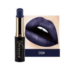 Toko Niceface 24 Matte Warna Lipstik Seksi Merah Ungu Bibir Tahan Air Tahan Lama Lip Gloss Bibir Tongkat Logam N*d* Lip Makeup Intl Murah Tiongkok