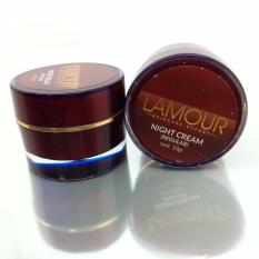 Review Night Cream Reguler Lamour