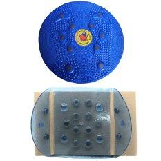 Paket Nikita Alat Pelangsing Tubuh Magnetic Trimmer Jogging Body Plate Dan Sabuk Magnetik