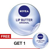 Tips Beli Nivea Lip Butter Original 16 7 Gr Buy 1 Get 1