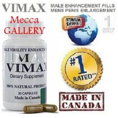 NO.1 Pembesar-Penis-Vimax-Izon Asli Canada 30 Kapsul.