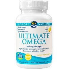 Jual Nordic Naturals Usa Ultimate Omega 1 280Mg Omega 3 60 Soft Gels Rasa Lemon Dewasa Online Indonesia