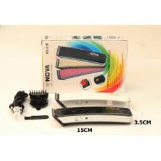Toko Nova 217 Pencukur Rambut Elektrik Rechargeable Dan Portable Hair Trimmer Terlengkap Di Dki Jakarta