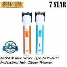 NOVA ® New Series Type NHC-6011 Professional Hair Clipper Trimmer – Alat Cukur Pangkas Potong Ra