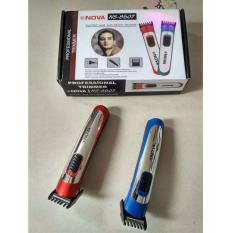 Toko Nova Ns 8607 Alat Cukur Rambut Elektrik Hair Clipper Trimmer Kumis Wig Salon Hair Style Merah Murah Di Jawa Barat
