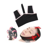 Novelty V Line 3D Face Cheek Chin Liftup Shaping Slimming Beltanti Wrinkle Face Belt Sleep Mask Belt Size L Intl Terbaru