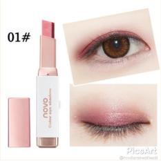 NOVO Eye Shadow Eyeshadow Stick Gradient Ombre Color Korean Style Makeup - #1