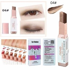 Novo Eyeshadow Stick Double Color Gradient Velvet - 2 Warna