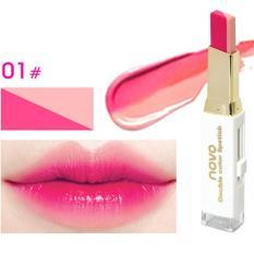 Harga Novo Two Tone Lipstick Lip Bar No 01 Yang Bagus