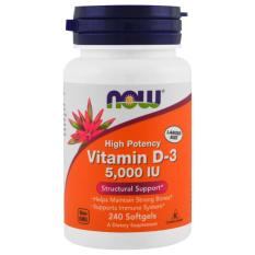 Spek Now Foods Vitamin D 3 5000 Iu 240 Softgels