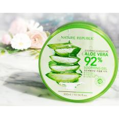 Spek Nr Korean Masker Gel Aloe Vera 92 Melembutkan Melembabkan Kulit 300 Ml