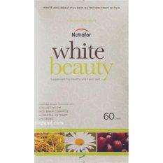 Toko Nutrafor White Beauty 60 S Suplemen Pemutih Badan Vitamin Kulit Anti Aging Obat Jerawat Mengurangi Flek Hitam Mencegah Keriput Anti Penuaan Dini Online