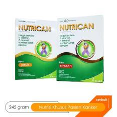 Nutrican Makanan Diet Khusus Pasien Kanker - Jeruk 245 Gram By Sahabat Kesehatan.