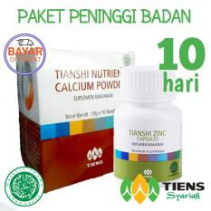 Review Toko Nutrient Hight Calcium Powder Dan Zinc Peninggi Badan Tiens Tiens Official Gh Ada Voucher Belanja Plus Ghift