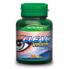 Spesifikasi Nutrimax Clear Vision With Eyebright Herb 60 Tablets