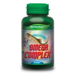 Spesifikasi Nutrimax Omega Complex Omega 3 6 9 Plus Vitamin E 60 S Vitamin Untuk Jantung Kolesterol Hipertensi Mencegah Autoimune Lengkap