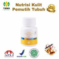 Spesifikasi Nutrisi Kulit Pemutih Tubuh 20 Kapsul Tiens Supplement Terbaru