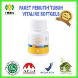 Jual Nutrisi Kulit Pemutih Tubuh Vitaline 10 Kaps Ori