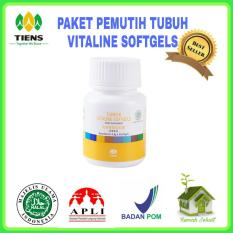 Jual Nutrisi Kulit Pemutih Tubuh Vitaline 10 Kaps Branded Murah