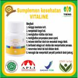 Nutrisi Kulit Pemutih Tubuh Vitaline 10 Kaps Murah