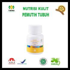 Cara Beli Nutrisi Kulit Pemutih Tubuh Vitaline 15 Kps