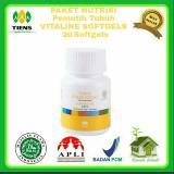 Jual Nutrisi Pemutih Tubuh Vitaline 20 Kapsul