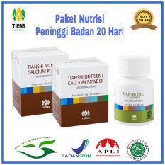 Ulasan Lengkap Nutrisi Peninggi Badan 20 Hari 2 Box Nhpc 1 Botol Zinc