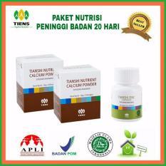 Spek Healthyhouse Display Nutrisi Peninggi Badan 20 Hari 2 Box Nhpc 1 Botol Zinc