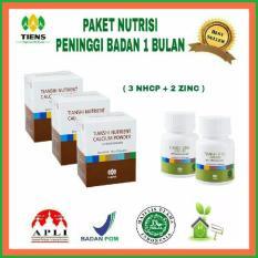 Harga Termurah Healthyhouse Display Nutrisi Peninggi Badan 30 Hari 3 Box Nhcp 2 Botol Zinc