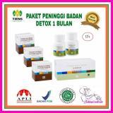 Spesifikasi Nutrisi Peninggi Badan Detok 30 Hari 3 Box Nhcp 2 Botoll Zinc 1 Box Jzt Yg Baik
