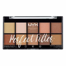 Jual Beli Nyx Professional Makeup Perfect Filter Shadow Palette Golden Hour Baru Jawa Barat