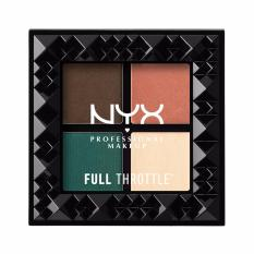 Cuci Gudang Nyx Professional Makeup Full Throttle Shadow Palette Explicit Palet Eyeshadow