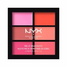 Jual Nyx Professional Makeup Pro Lip Cream Palette 01 The Pinks Nyx Professional Makeup Branded