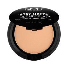 Toko Nyx Professional Makeup Stay Matte But Not Flat Powder Golden Beige Compact Powder Bedak Padat Untuk Kulit Normal Berminyak Hasil Matte Dan Flawless Indonesia