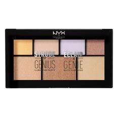 Spesifikasi Nyx Professional Makeup Strobe Of Genius Multicolor Shimmer Highlighter Palette Palet Strobing Yg Baik