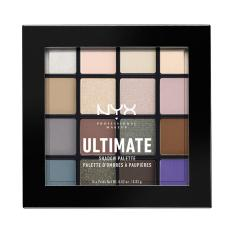 Nyx Professional Makeup Ultimate Shadow Palette Cool Neutrals Palet Eyeshadow Kombinasi Warna Lengkap Asli