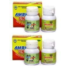 Diskon Obat Ambeien Atau Wasir Ambeextra Unlergo 2 Kotak 4 Botol Herbal