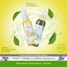 Toko Obat Botak Penumbuh Rambut Green Angelica Hair Treatment Paket Untuk Penumbuh Rambut Alami Dan Aman Online