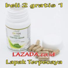 Spesifikasi Obat Diet Pelangsing Badan Green Coffee Bean Isi 30 Capsul