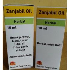 Obat Jerawat, obat Bisul, obat Luka, obat Cacar Herbal Zanjabil Oil Buatan Indonesia