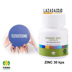 Obat Kuat Pria Tiens Zinc  / Penambah Sperma / Hormon Testosteron Obat Herbal Alami / Tanpa Efek Samping