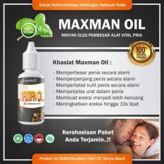 Harga Obat Oles Herbal Untuk Memper Besar Memper Panjang Ukuran Alat Pria Max Man Oil Branded