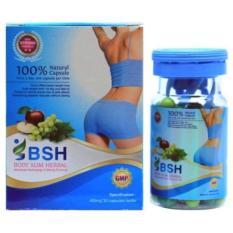 Beli Obat Pelangsing Badan Diet Cepat Menurunkan Berat Badan Body Slim Herbal Bsh Asli Online Murah