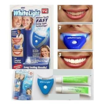 Obat Pemutih Gigi Cepat Alami Whitelight Paket Alat Pemutih Gigi