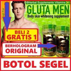Harga Termurah Obat Pemutih Kulit Promo Gluta Men Glutamen Body Whitening