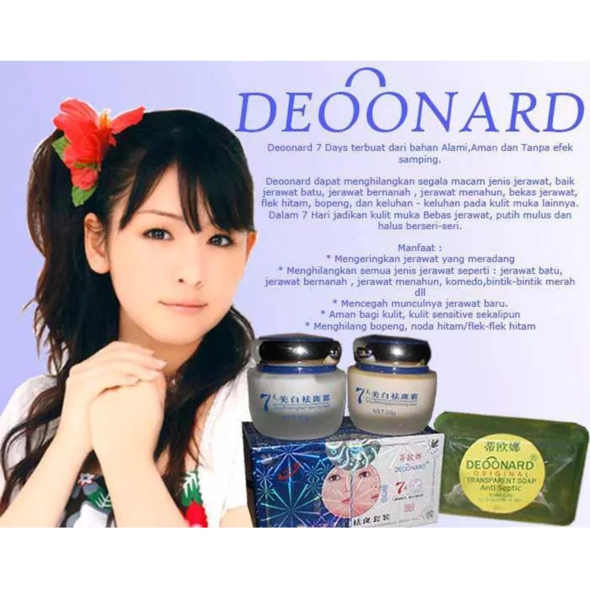 Obat Pemutih Kulit Wajah Muka Obat Jerawat Ampuh Cream Penghilang Flek Hitam Bekas Jerawat Deoonard 7